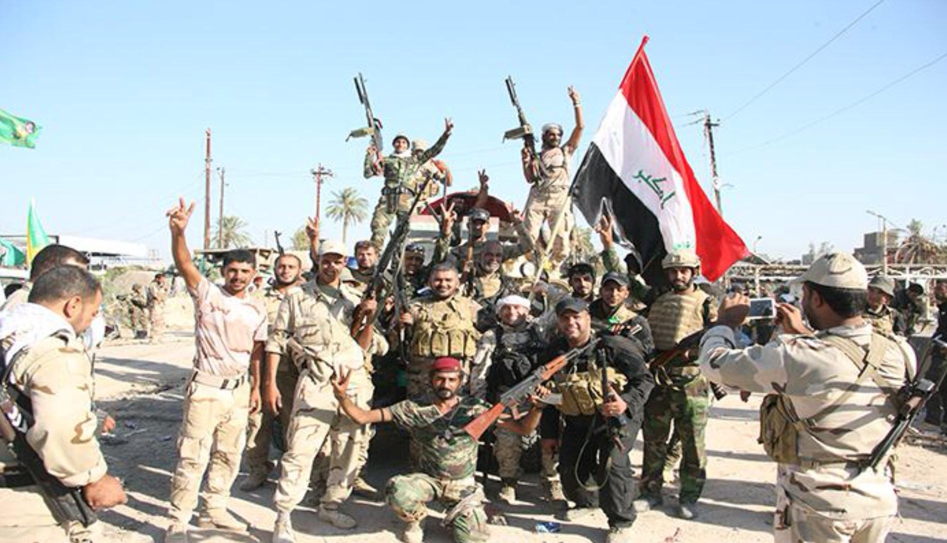 نیروهای الحشد الشعبی در نزدیکی مرز عربستان مستقر میشوند