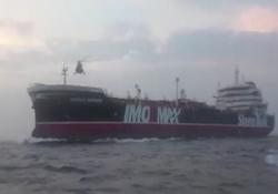 لحظه توقیف نفتکش انگلیسی توسط نیروی دریایی سپاه + فیلم