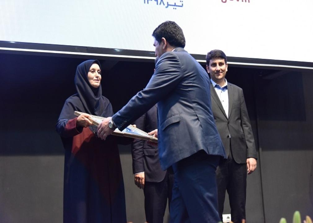 شرکت ملی پست جایزه ملی کیفیت دریافت کرد