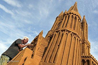 جشنواره مجسمه های شنی در بلژیک