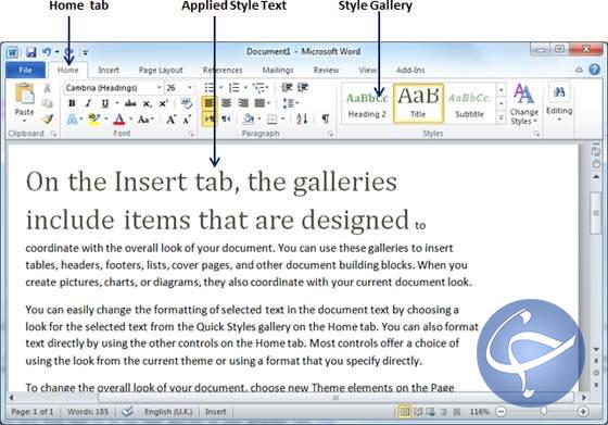 آموزش مایکروسافت ورد/ چگونگی استفاده از طرح فوری و قالب آماده در متن (قسمت ۲۵)