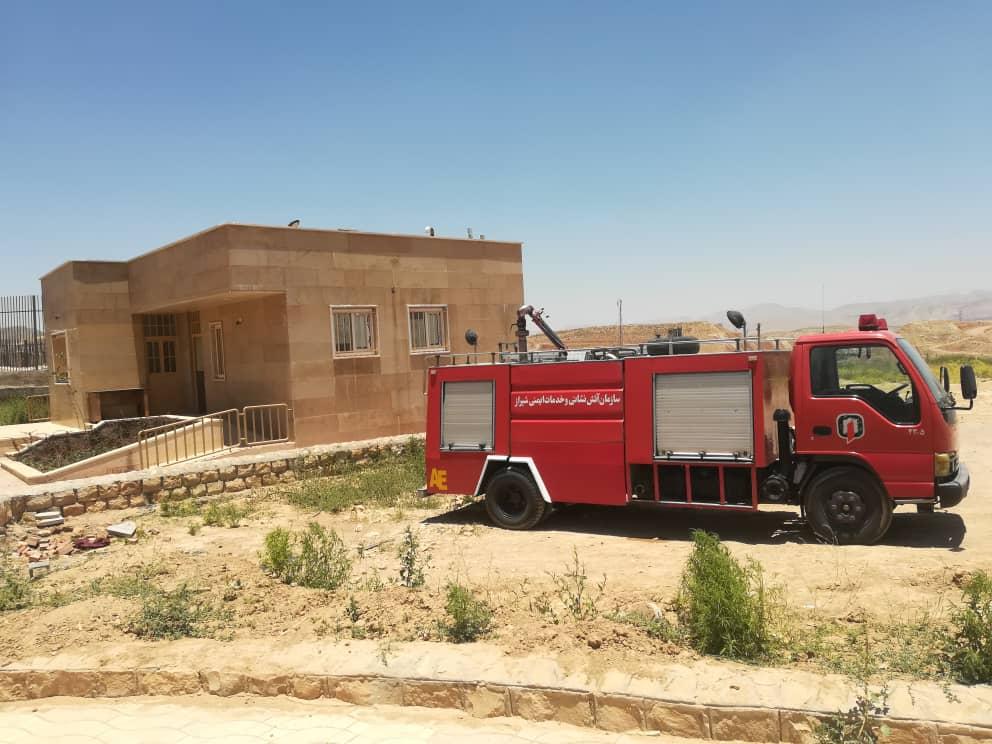 راه اندازی پایگاه امدادی سازمان آتش نشانی در پارک کوهستانی دراک