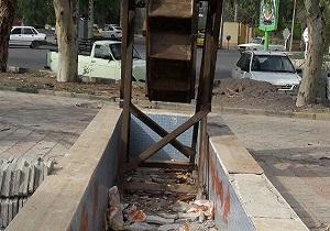 مرتع یا ایستگاه اتوبوس؟!/ دپوی زباله در فضای سبز!!!/ آبشار «ماهیچال» از دیدنیهای الیگودرز + فیلم و تصاویر