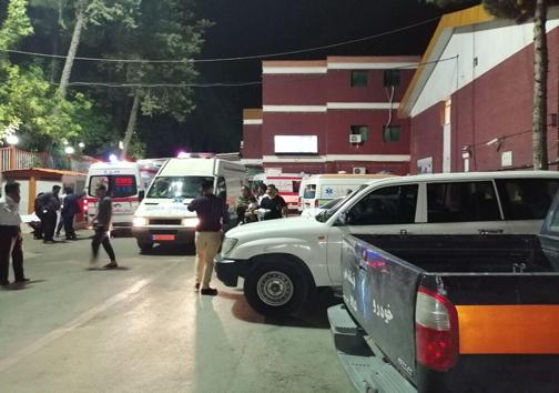 واژگونی اتوبوس زائران عراقی ۲۲ مصدوم برجای گذاشت