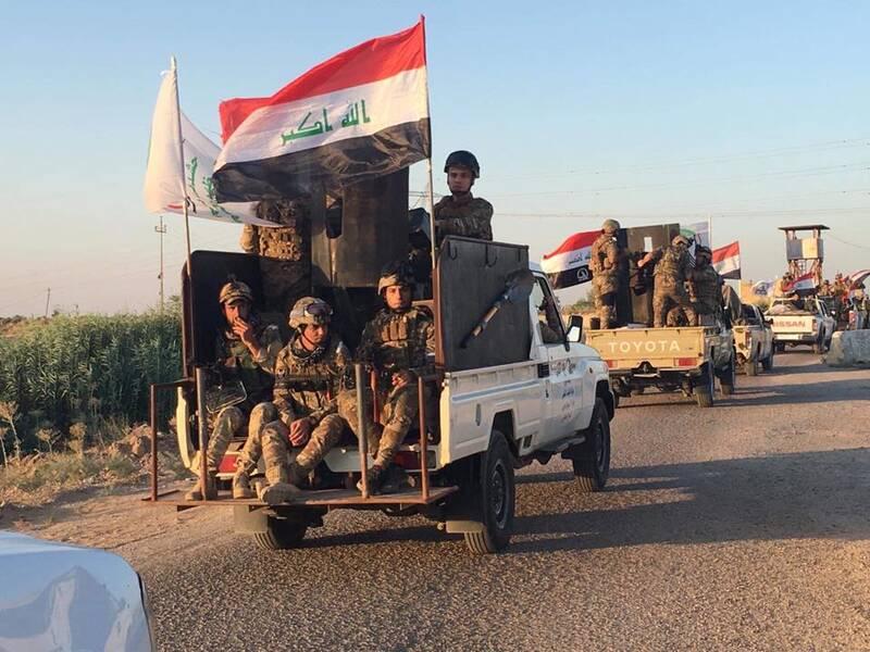 عملیات اراده پیروزی و آغاز حمله به محل اختفای ابوبکر البغدادی + نقشه میدانی و عکس