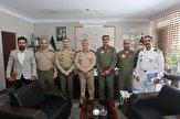 باشگاه خبرنگاران -دیدار رئیس سازمان تربیت بدنی ارتش با امیر خانزادی