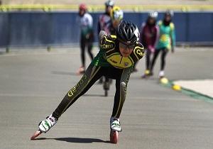 برگزاری مسابقات استانی اسکیت سرعت در همدان