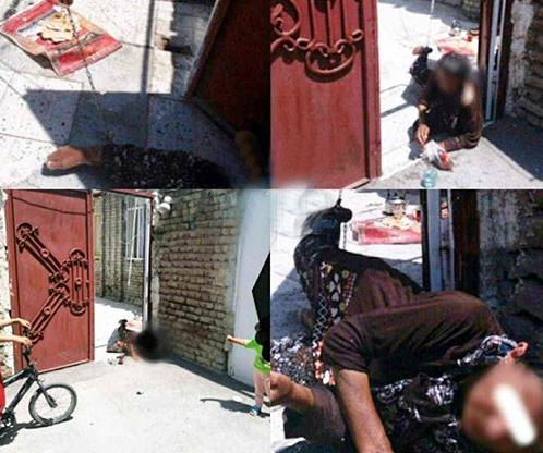 ماجرای زنی که به دست پسرش به زنجیر کشیده شد + تصاویر