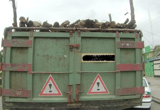 کشف ۵ تن چوب جنگلی قاچاق در املش