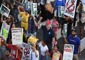 پلیس آمریکا از مخالفان ترامپ جاسوسی میکند