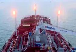 ویدئویی از عرشه نفتکش توقیفشده انگلیسی در بندر عباس