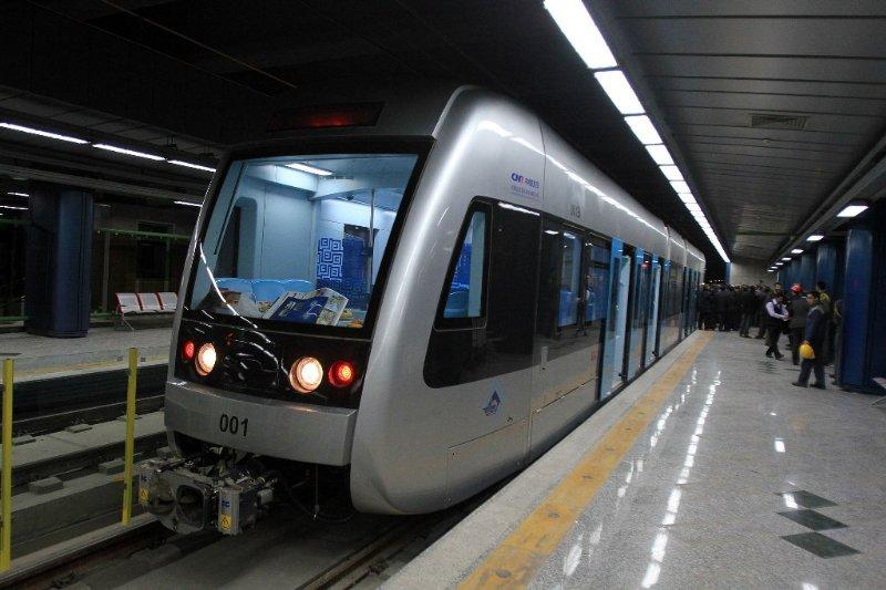 ورود ۴ رام قطار به خطوط متروی تهران