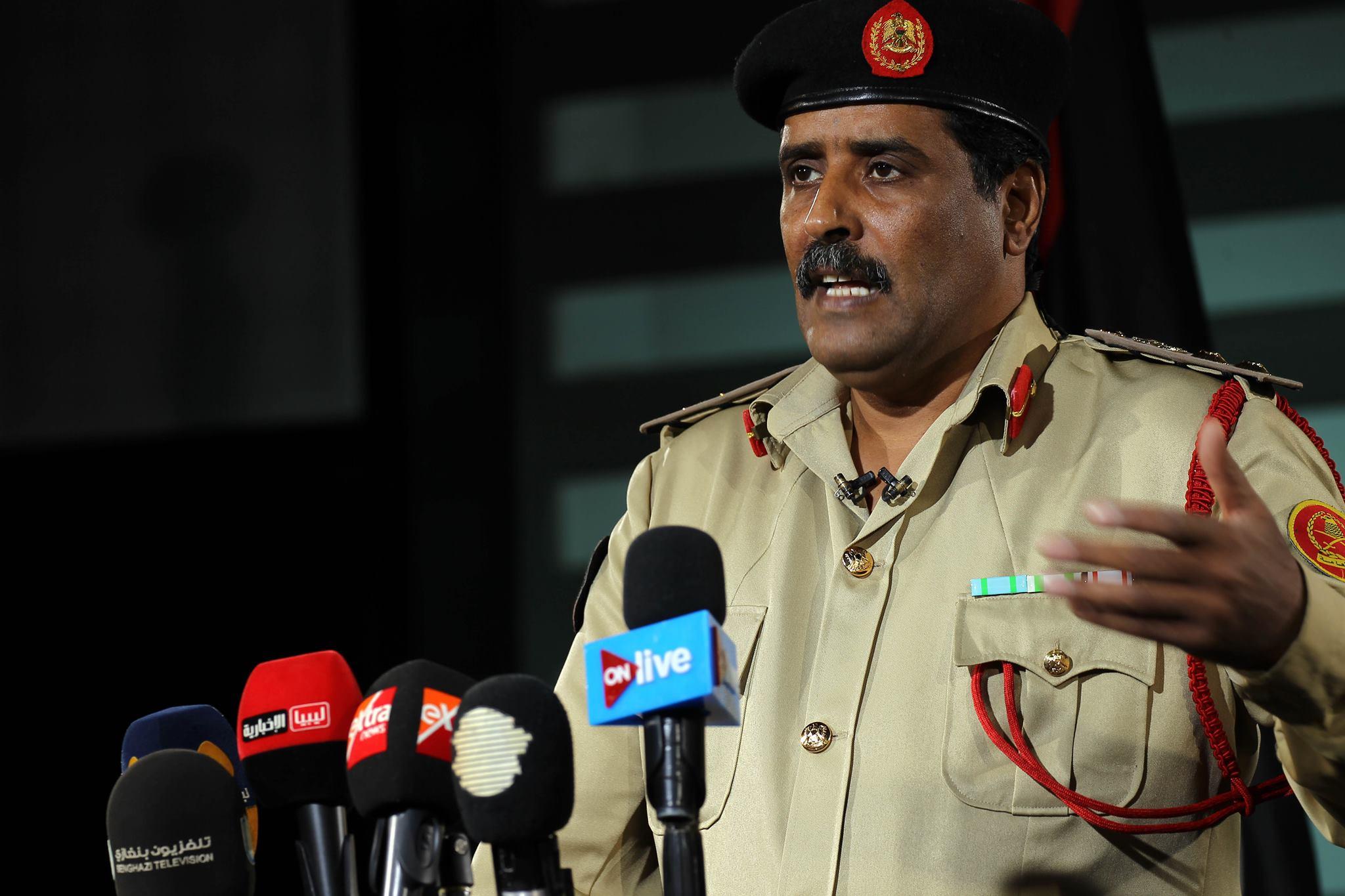 سخنگوي خليفه حفتر از مقدمات حمله به طرابلس خبر داد