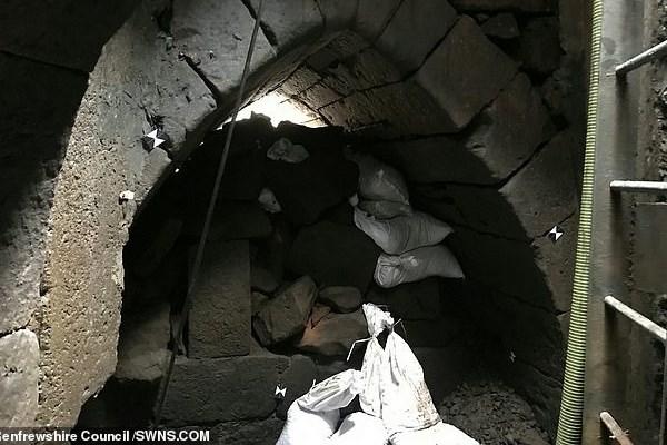 کشف تونلی از قرن چهاردهم میلادی + تصاویر