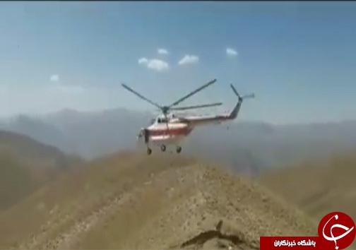 نجات قهرمان کشتی جهان در ارتفاعات منطقه بلده