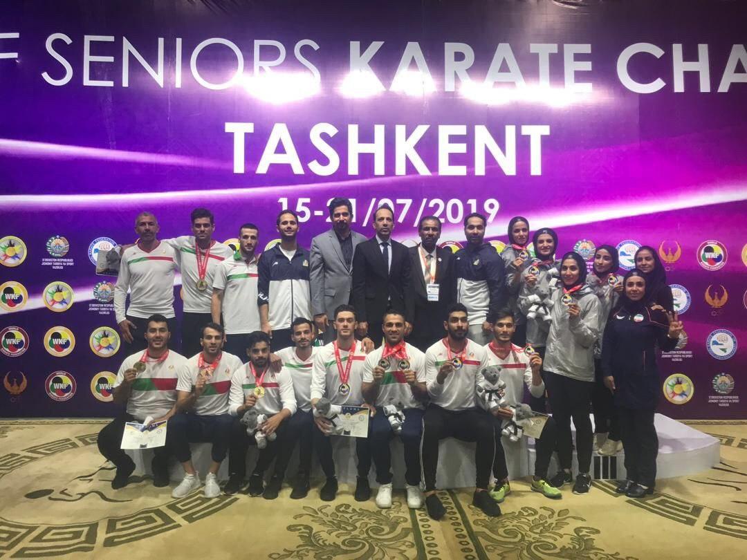 شرحی از عملکرد کاراته کاران ایرانی در مسابقات آسیا/ تاریخ سازی دختران کاراته کار