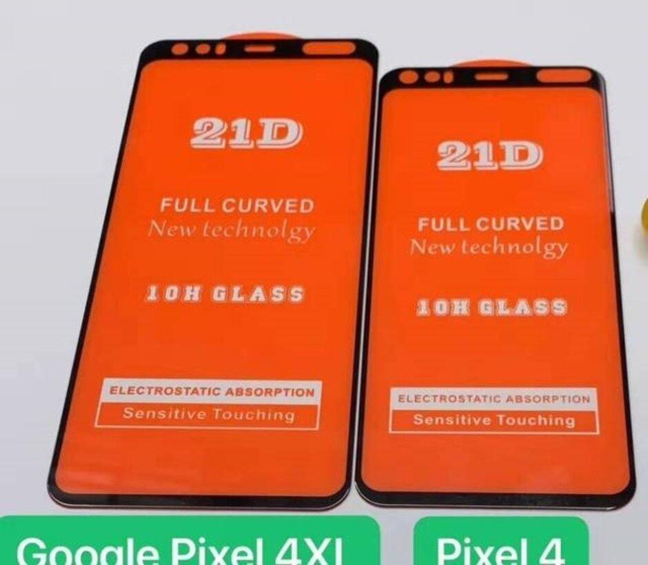 محافظ صفحه نمایش پیکسل ۴، راز بریدگی آن را فاش میکند +تصاویر