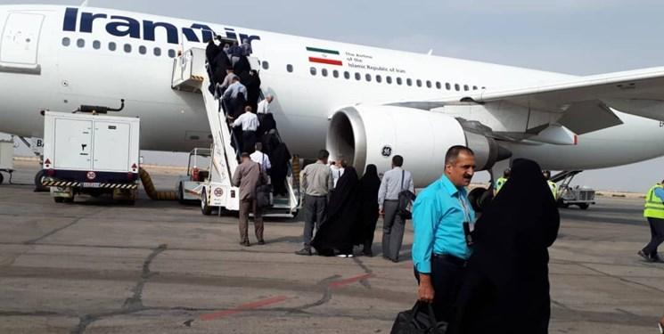 انتقال ۴۳ هزار زائر خانه خدا با ۱۷۳ پرواز به عربستان