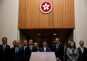 هنگکنگ حمله به دفتر نمایندگی چین در این کشور را محکوم کرد