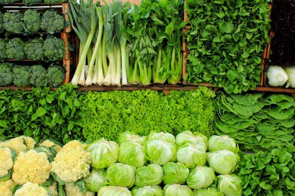 قیمت انواع سبزیجات + جدول
