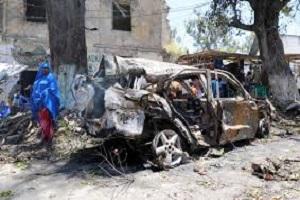 ۵ کشته بر اثر انفجار خودروی بمبگذاری شده در موگادیشو