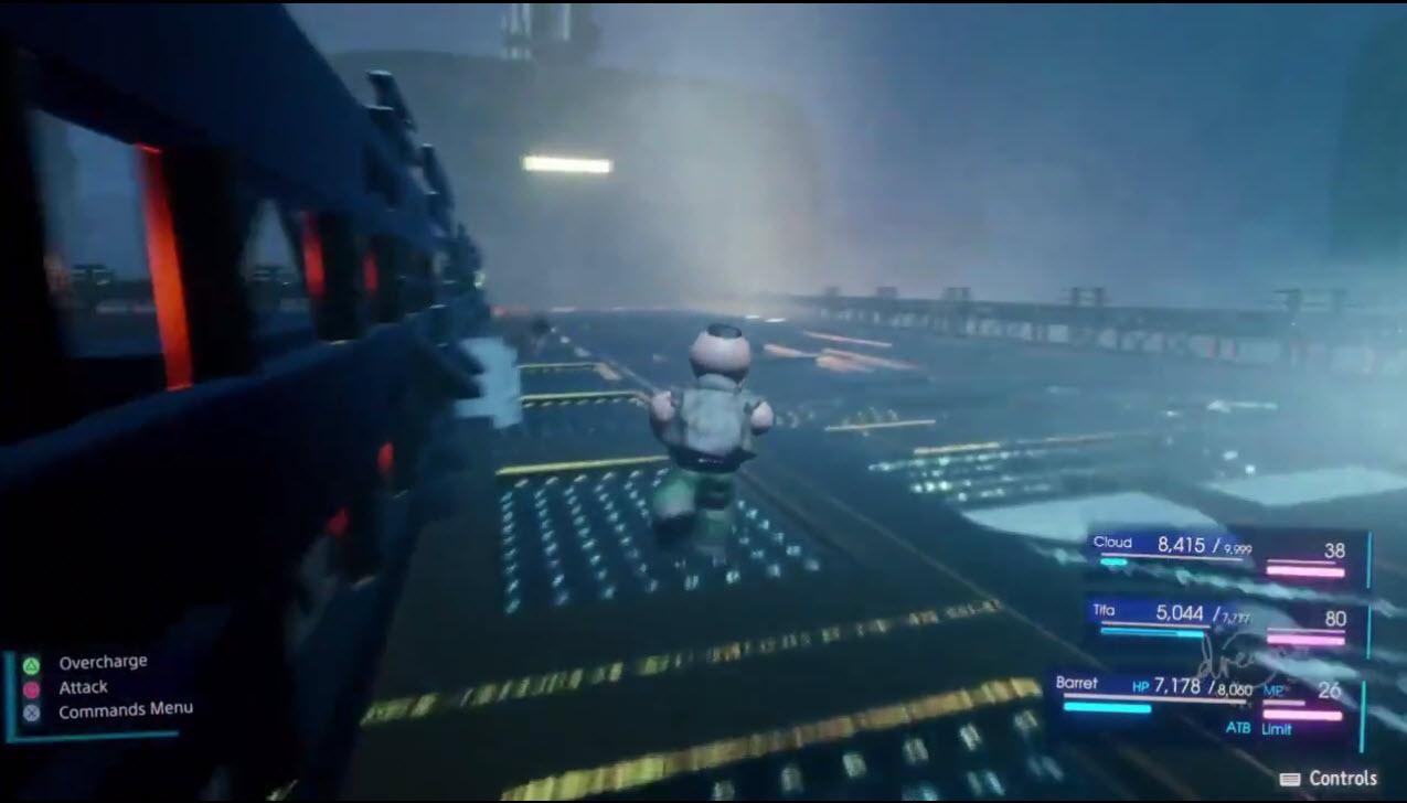 شبیه سازی جذاب Final Fantasy VII Remake در عنوان Dreams +تصاویر