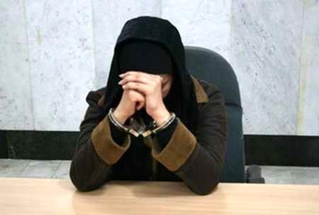 زن جوان با کوله پر از تریاک دستگیر شد