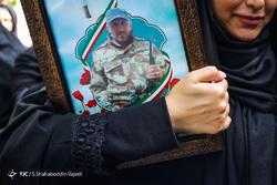 تشییع پیکر شهید مدافع حرم ابوالفضل سرابیان