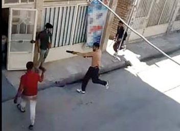 گلوله خشم بر سینه همسایه/ قتل با اسلحه وینچستر+ تصاویر
