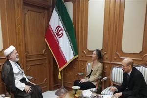 سفرای ایران و ایتالیا با یکدیگر گفتوگو کردند