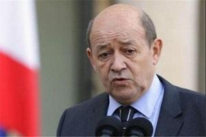 وزیر خارجه فرانسه: با آلمان و انگلیس برای کاهش تنش در منطقه همکاری می کنیم