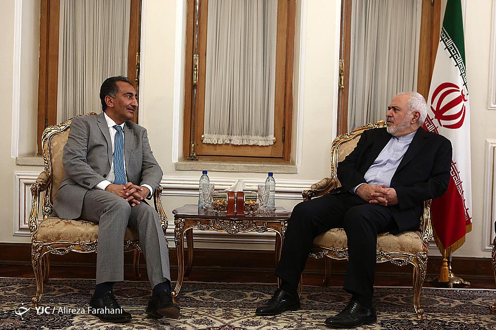 دیدار قائم مقام وزارت امورخارجه عراق با ظریف