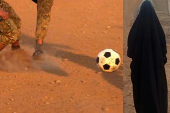 مادربزرگ اهوازی که یار دوازدهم تیم فوتبال است! + فیلم