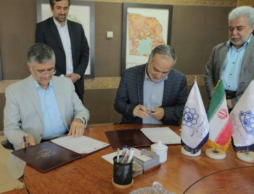 استفاده از پتانسیل دانشگاه  اقبال در همکاری با شهرداری منطقه ثامن