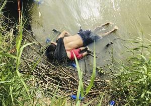 تصویر دلخراشی از اجساد پدر و دختر مهاجری که قربانی سیاستهای مهاجرتی ترامپ شدند