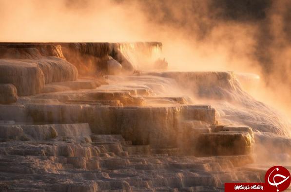 آبهای گرم کناری اسپرینگ در قاب دوربین نشنال جئوگرافیک