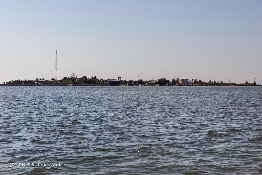 تنها جزیرهٔ ایرانی دریای خزر کجاست؟
