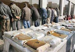 ۷۰ باند مواد مخدر در خراسان رضوی متلاشی شده است