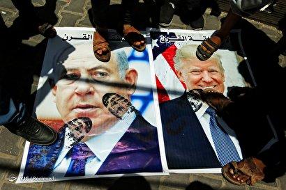 تظاهرات فلسطینیها علیه اجلاس بحرین