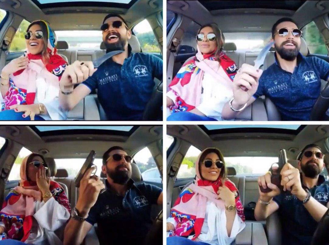 واکنش پلیس فتا به انتشار ویدئو مسلحانه محسن افشانی