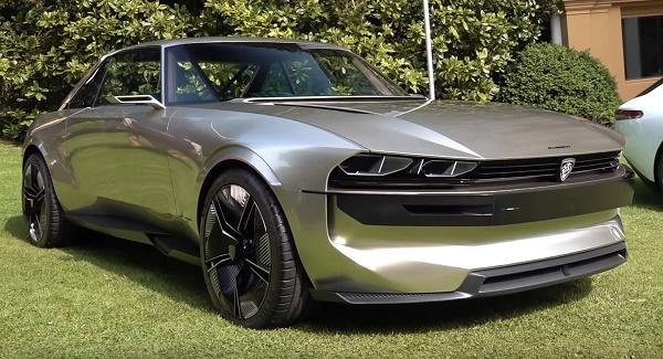 طرح مفهومی خودرو تمام الکتریکی پژو e-Legend مجددا به نمایش درآمد
