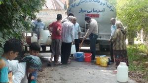تنش آبی در ۷۰ روستای استان گیلان
