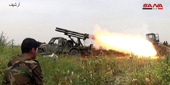 باشگاه خبرنگاران -ناکامی تلاش تروریستها برای نفوذ به «القصابیه» در ریف شمالی حماه