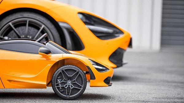 تولید خودرو سوپر اسپرت مخصوص کودکان از سوی شرکت مک لارن +تصاویر