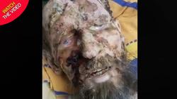 پیدا شدن مرد روس در مخفیگاه خرس قهوه ای!  + فیلم///