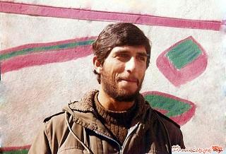 اولین تصویر از پیکر مطهر شهید غلامرضا پروانه