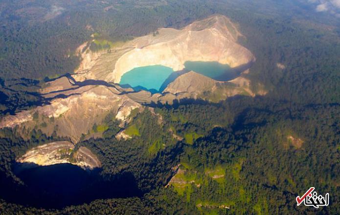 رنگ این دریاچه افسانهای هر لحظه تغییر میکند + تصاویر