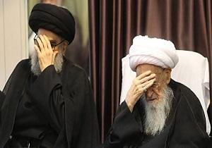 آیین سوگواری شهادت امام صادق (ع) در دفاتر مراجع عظام تقلید