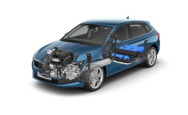 خودروی CNG سوز اسکودا، خودرویی با بالاترین کیفیت جهانی +تصاویر