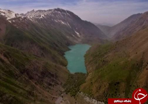 دریاچه گهر نگین اشترانکوه پذیرای گردشگران از سراسر کشور